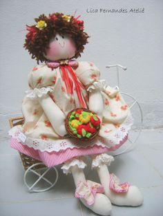 Boneca Ana. #licafernandesatelie