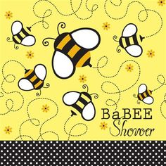 Buzz BaBEE Baby Shower Lunch Napkins