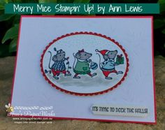 Merry Mice Stamp Set, Christmas Creative Class featuring colouring with Stampin' Write Markers, Stampin' Up! Ann's PaperWorks Ann Lewis Stampin' Up! (Aus)|Stampin' Up! 2016 Holiday Catalogue| online store 24/7
