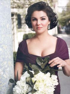 Anna Netrebko as photographed for a European magazine.