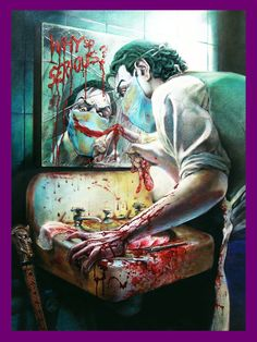 JOKER - The Smile in the Mirror by ~Elfsar