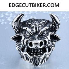 Edge Cut Animal OX RIng