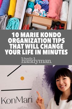 10 Organizing Tips from Marie Kondo That Will Change Your Life in Minutes – i Love Organizing – Grandcrafter – DIY Christmas Ideas ♥ Homes Decoration Ideas Organisation Hacks, Storage Organization, Storage Ideas, Dresser Drawer Organization, Household Organization, Storage Boxes, Organizing Your Home, Organizing Tips, Declutter Your Life