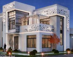 Classic House Exterior, Modern Exterior House Designs, Modern Villa Design, Classic House Design, Bungalow House Design, Dream House Exterior, House Outside Design, House Front Design, Architecture Building Design