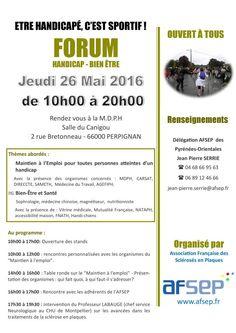 Forum-Handicap Bien être à Perpignan