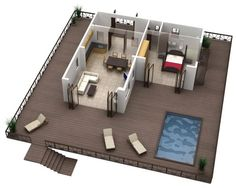 Simple Best Free Floor Plan Software With Modern Home Floor Plan With Simple Out Door Pool Design For Free Floor Plan Software Uk