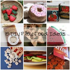 DIY Play Kitchens and Play Food | Lil Blue Boo