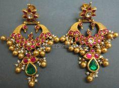 Latest Collection of best Indian Jewellery Designs. Indian Jewellery Design, Latest Jewellery, Jewellery Designs, Bridal Jewelry, Gold Jewelry, Beaded Jewelry, Jewelery, Gemstone Earrings, Ring Earrings