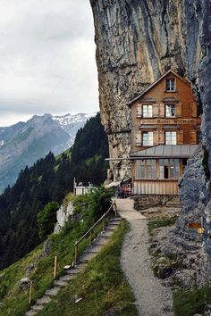 Switzerland. Appenzell. We stayed beside this bed and breakfast