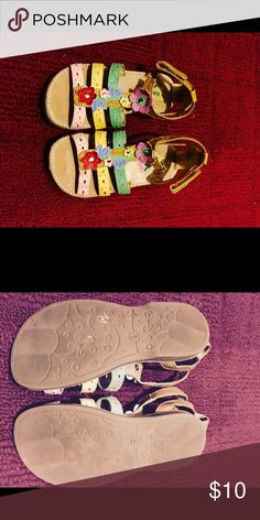 Toddler girl shoes Size 9 Toddler girl sandals. Lightly worn, didn't have for very long before growth spurt. Shoes Sandals & Flip Flops