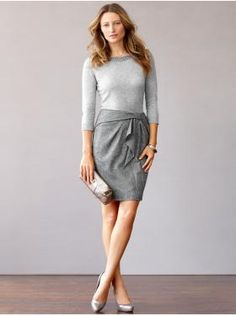 Despite it being a skirt outfit in fall and winter, it just looks so cozy and warm