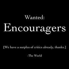 #encouragers