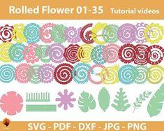 Large Paper Flower Template, Flower Petal Template, Leaf Template, Flower Svg, Flower Tutorial, Flower Petals, Owl Templates, Crown Template, Butterfly Template