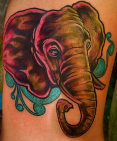 i want an elephant tattoo!