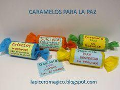 LAPICERO MÁGICO: Caramelos para la Paz