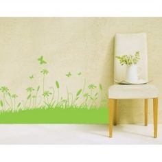 Grass Decorative Wall Sticker
