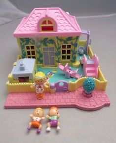 Vintage-1994-Polly-Pocket-Nursery-School-complete-Bluebird-49.99