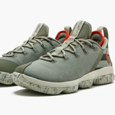 online retailer f227a bb830 Nike Shoes   Nike Lebron 14 Sneakers Men'S - 11.5   Color: Gray/Green