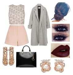 """""""NYFW/ME"""" by mischievoustyle on Polyvore featuring moda, Finders Keepers, Gianvito Rossi, Zara, Karl Lagerfeld y Anabela Chan"""