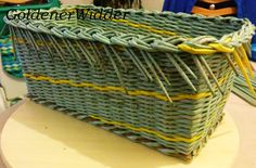 Weaving rurki z gazet