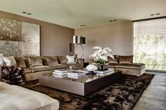 The Netherlands / Private Residence / Living Room / John Breed / Maretti Lighting / Eric Kuster / Metropolitan Luxury