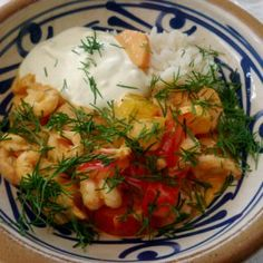 Supersnabba frallor | Ugnstrull Shrimp, Lunch, Meat, Food, Eat Lunch, Essen, Meals, Lunches, Yemek