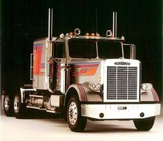 """In 1982, the first ‪#‎Freightliner‬ FLC with a fiberglass hood was produced!"