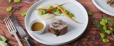 Qooking.ch | Filet mignon de veau en basse température et légumes de printemps