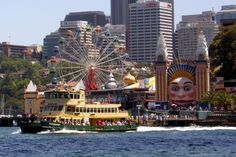 Ferries! And Luna Park
