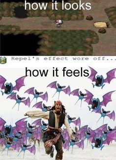 Caves in Pokemon
