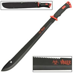 Zombie Killer Octane Brutal Bolo Machete Knife *** To view further for this item, visit the image link.