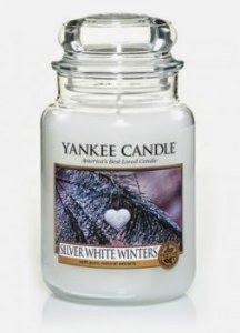 http://www.phomz.com/category/Yankee-Candle/ Silver White Winters - Like an Alpine forest blanketed in snow . . . the crisp, fresh scent of spruce, pine, balsam and cedarwood. Salt, Food, Eten, Salts, Hoods, Meals