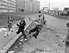 Outside Divis Flats, West Belfast, Northern Ireland, Image © Chris Steele-Perkins/Magnum Photos Magnum Photos, Documentary Photographers, French Photographers, Elliott Erwitt Photography, Henri Cartier Bresson, Photographer Portfolio, Lewis Carroll, The New Yorker, Belfast