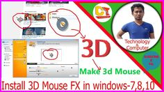 how to change your mouse cursor ,💎like 3D effects Mouse Pointer,💎For win...