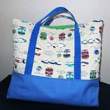 レッスンバッグ トートバッグ風 作り方 レッスンバッグ バッグ 絵本袋