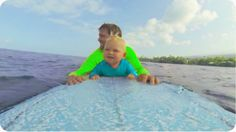 11 month old Kaimana hit the waves for the very first time with his dad on the Big Island of Hawaii. I think we have a future pro surfer on our hands! SUBSCR...