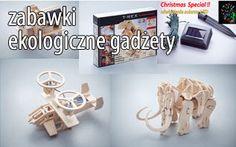 Zabawki ekologiczne gadżety