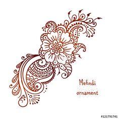 18 Best Mehndi Images On Pinterest Mandalas Henna Mehndi And