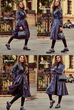 Winter Outfits, Indigo, Dresses With Sleeves, Long Sleeve, Casual, Inspiration, Clothes, Shoes, Fashion