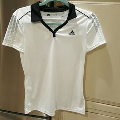 Adidas Clima Cool white top Very good condition Adidas Clima Cool top. Adidas Tops Tees - Short Sleeve