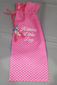 Just in time for Valentines, Excited to share the latest addition to my #etsy shop: My Little Treasure Princess Style Adult Toy Bag http://etsy.me/2niAY0W #bagsandpurses #pink #valentinesday #white #adulttoybag #vibratorbag #ddlggift #daddydom #ddlg