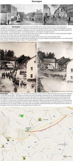 3 & 9 augustus 1914 - Soumagne de eerste dagen van de Duitse inval.