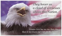 Free Cloud of Witnesses eCard - eMail Free Personalized Patriotic Cards Online
