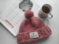 Lovely morning! #knithat #hat #caciula # caciulatricotata #pink #roz #pompom Knitted Hats, Knitting, Pink, Fashion, Tricot, Moda, Fashion Styles, Breien, Stricken