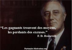 Franklin Roosevelt Top 25 Citations Motivation