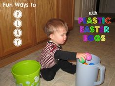 Fun Ways to Play with Plastic Easter Eggs