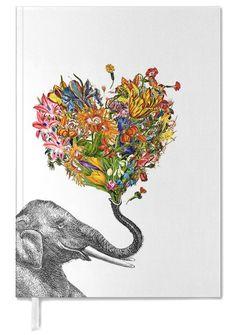 The Happy Elephant en Agenda par Rococco LA | JUNIQE