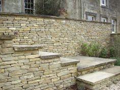 raj oxford sandstone dry stone walling - Google Search