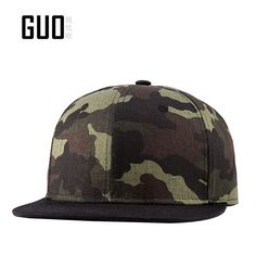 Original quality Cotton Baseball Cap Camouflage Green, green Hat Street fashion hip hop hats hunting+ Breathable bonnet Price: USD 10.8 | United States