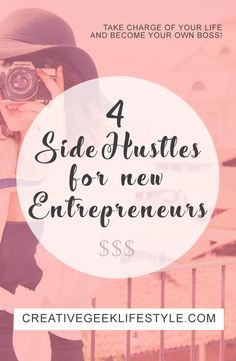 Tired of the boring 9-5 job? Take charge of your life and become your own boss by using these tried and true Side Hustles that WORKED for me!
